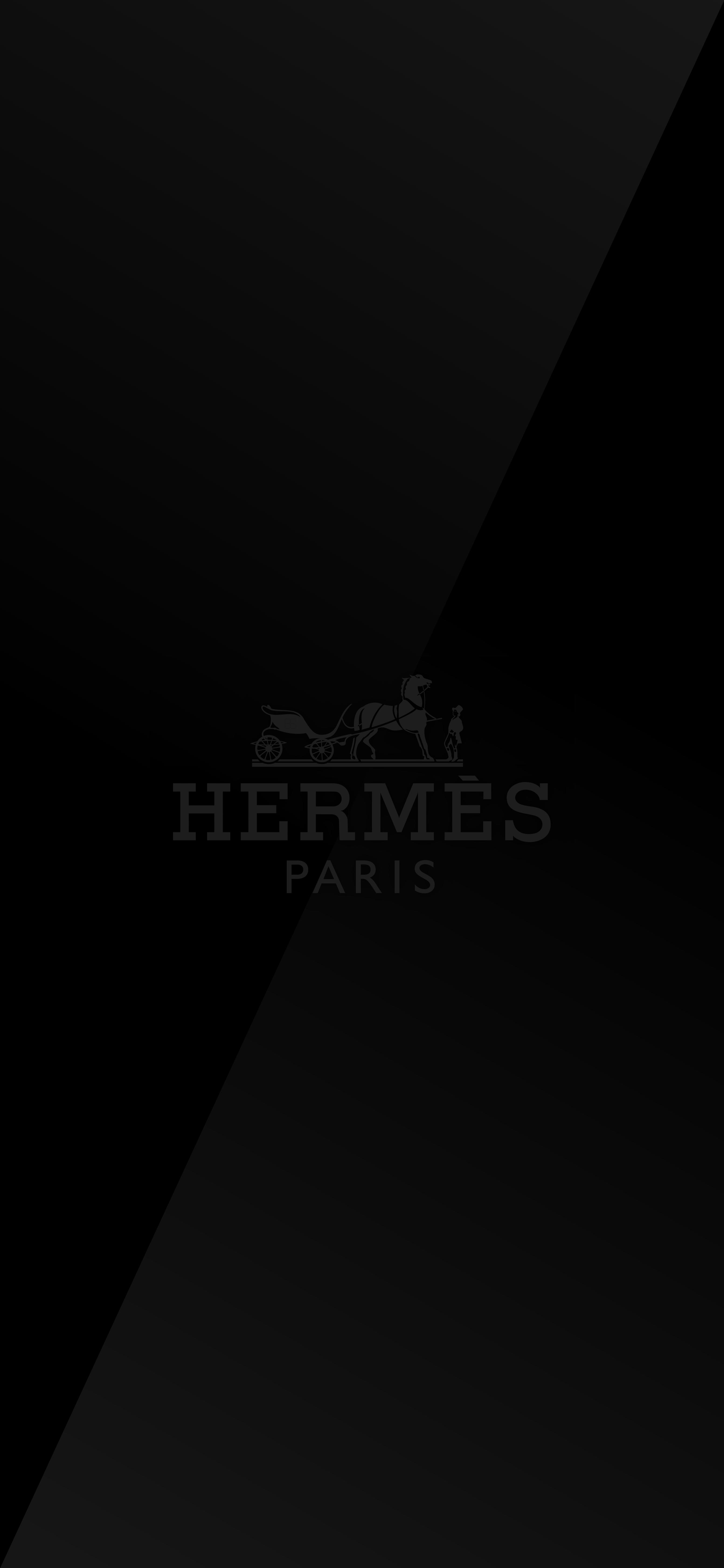 HERMÈS iPhone X Series wallpaper iOS 13 (Dark Mode