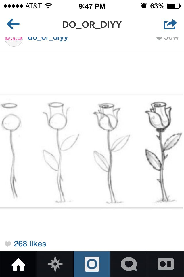 how to draw a perfect rose easy crafts pinterest art