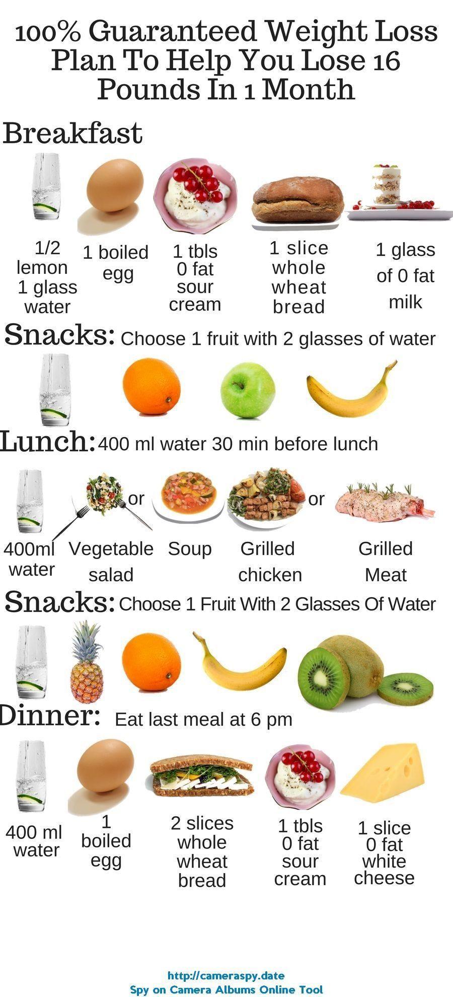 Loss diet chart for female