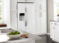White Kitchen With White Appliances white ice appliances vs. stainless steel | white appliances