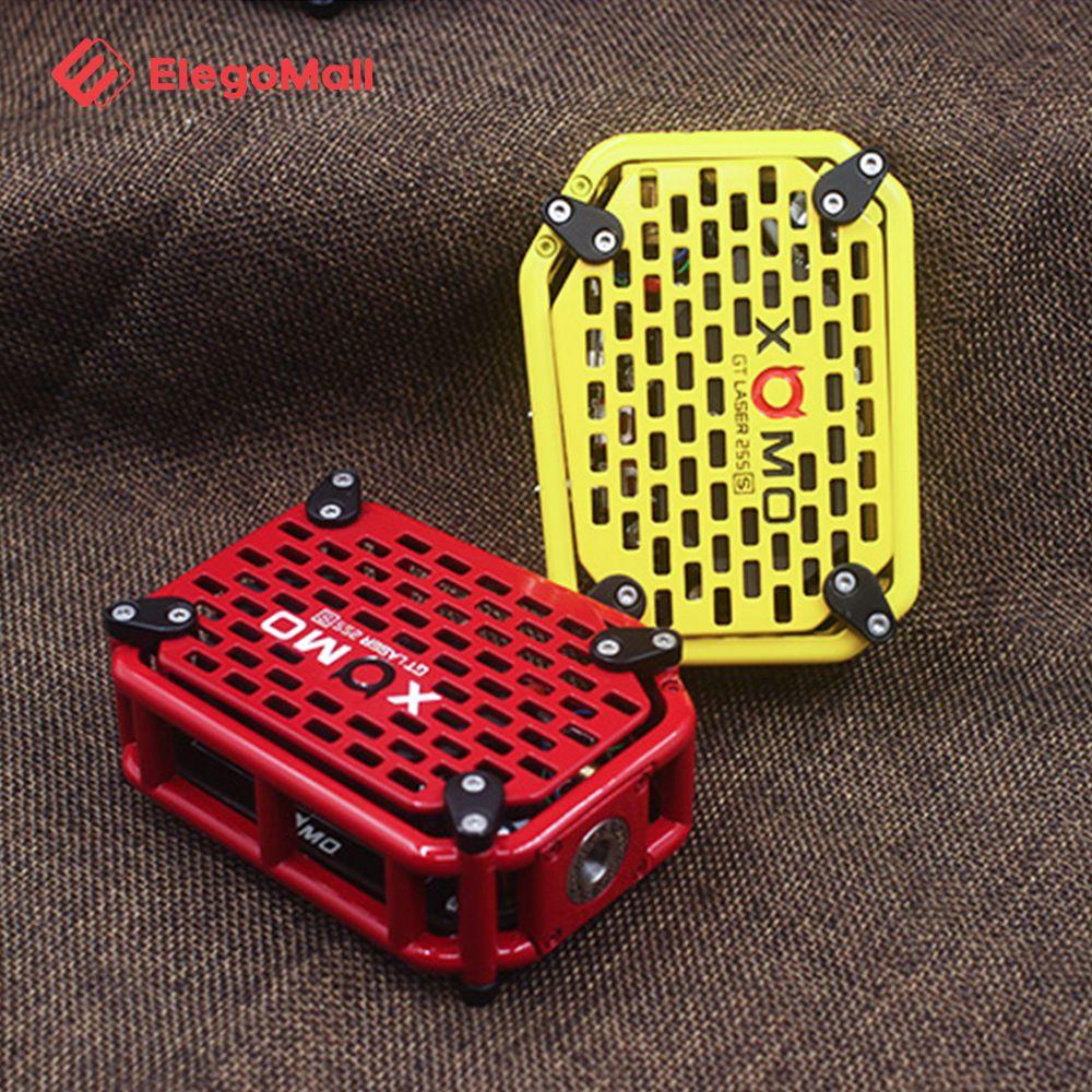 Xomo Gt Laser 255x Box Mod 3500mah Metal Panels Vape Box Mods
