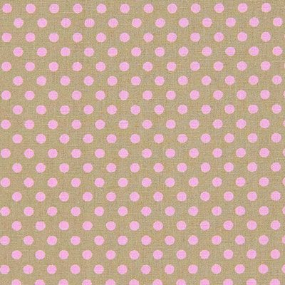 kankaita.com Cotton Soft Dots 2 - Puuvilla - beige