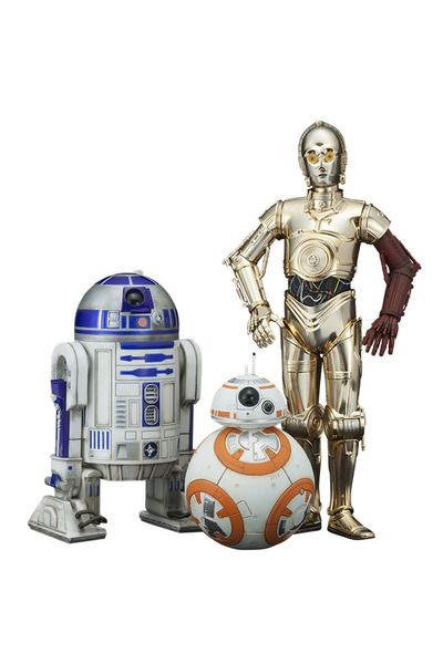 Figuras star wars artfx 3 robots star wars pack de 3 - Robot blanc star wars ...