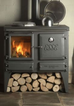 Ironheart Wood Stove. This would be awesome at home. Can add wet ...