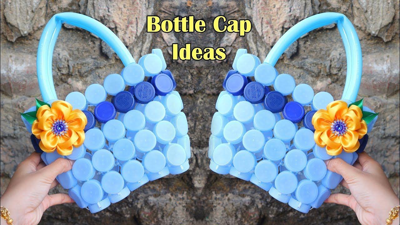 Ide Kreatif Dari Tutup Botol Bekas Tas Cantik Best Out Of