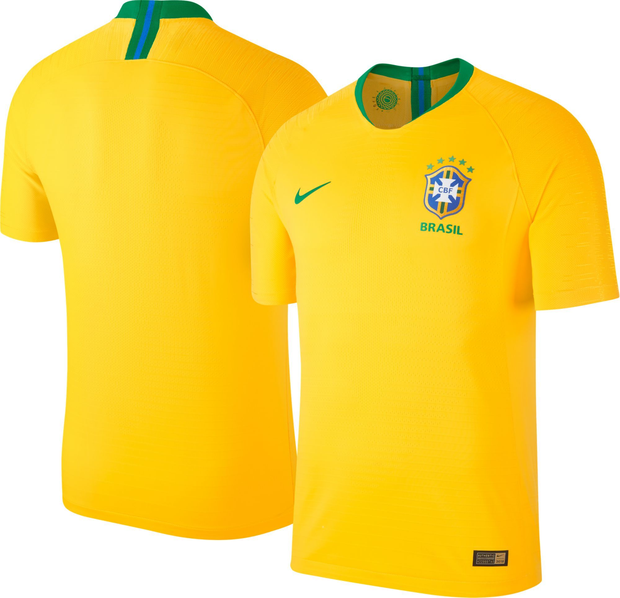 e187a2b1f Nike Men s 2018 Fifa World Cup Brazil Vapor Match Home Jersey