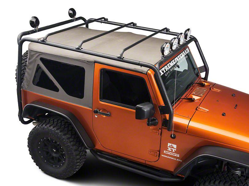 Barricade Roof Rack Textured Black 07 17 Wrangler Jk 2 Door Cool Ideas Deck Patio