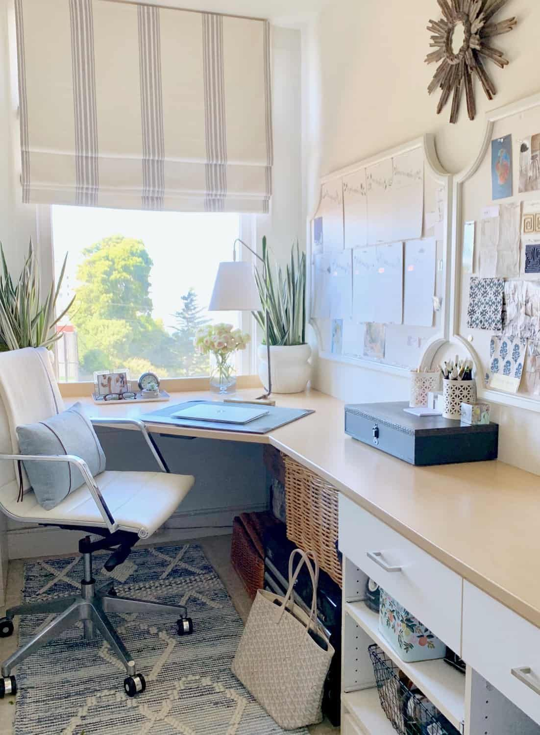 Home Office Quick Refresh And Simple Pretty Cocktail Home