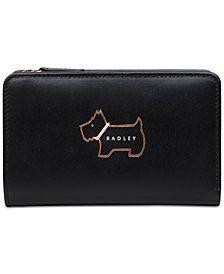 6b2c100fe3fe Radley London Heritage Dog Outline Medium Zip-Top Wallet