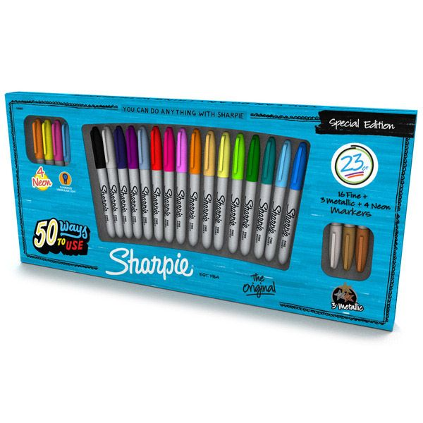 Sharpie Fine Marker 23-pack Special Edition