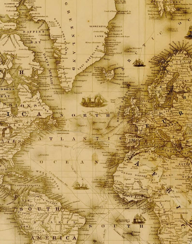 Digital Vintage Vintage Map Printable Download Vintage World Etsy In 2020 World Map Printable World Map Art Antique World Map