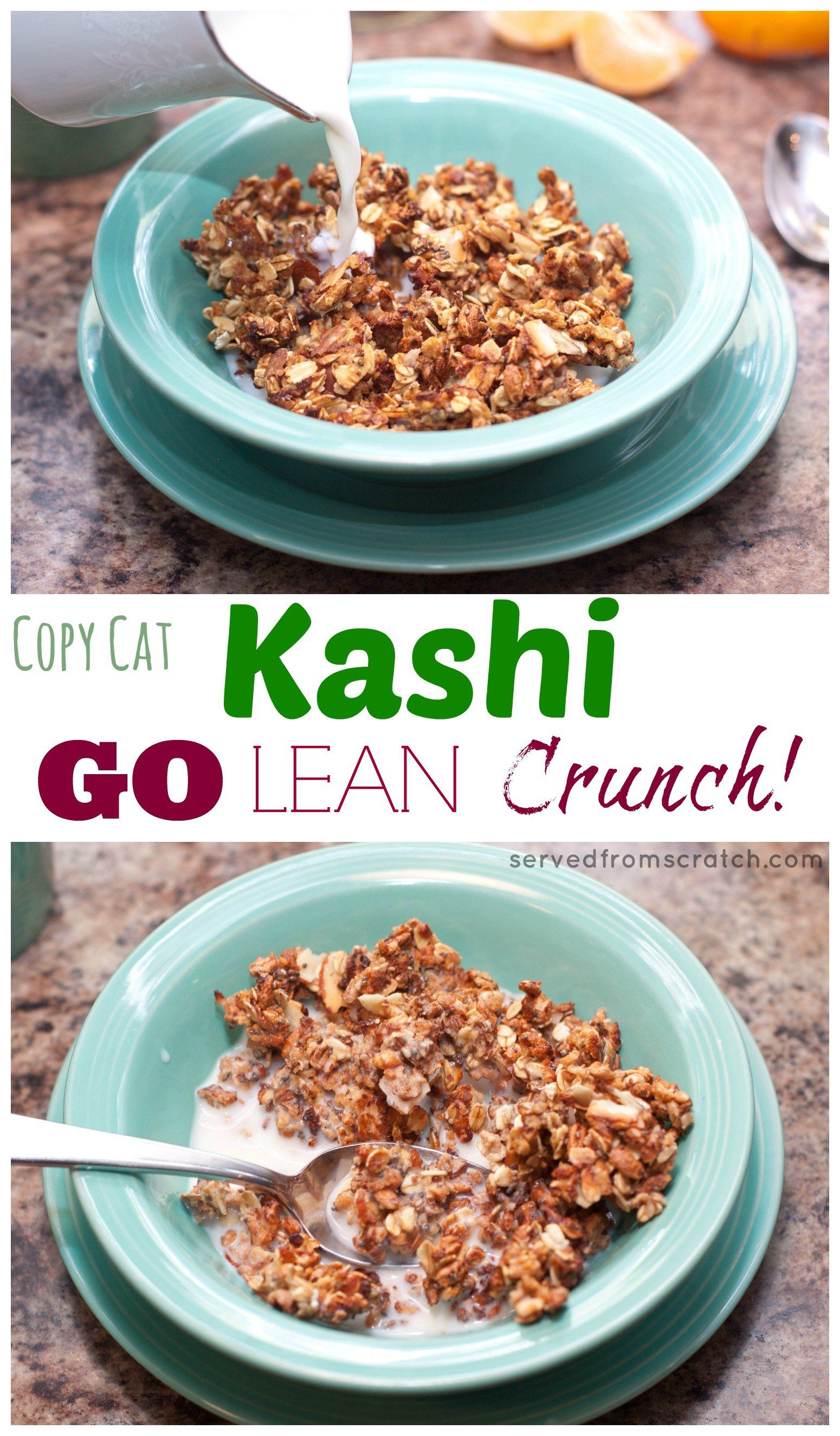 Copycat kashi go lean crunch cereal recipe healthy cereal copycat kashi go lean crunch cereal ccuart Choice Image