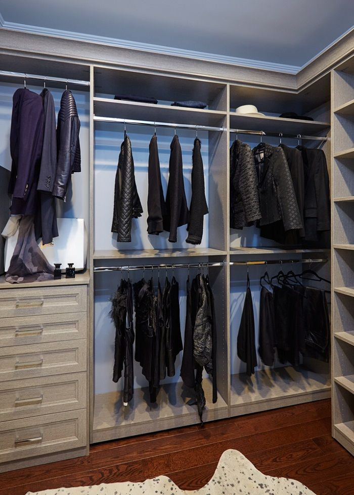 Merveilleux Custom Closet With Crown Molding Detail. Custom Closets Long Island.