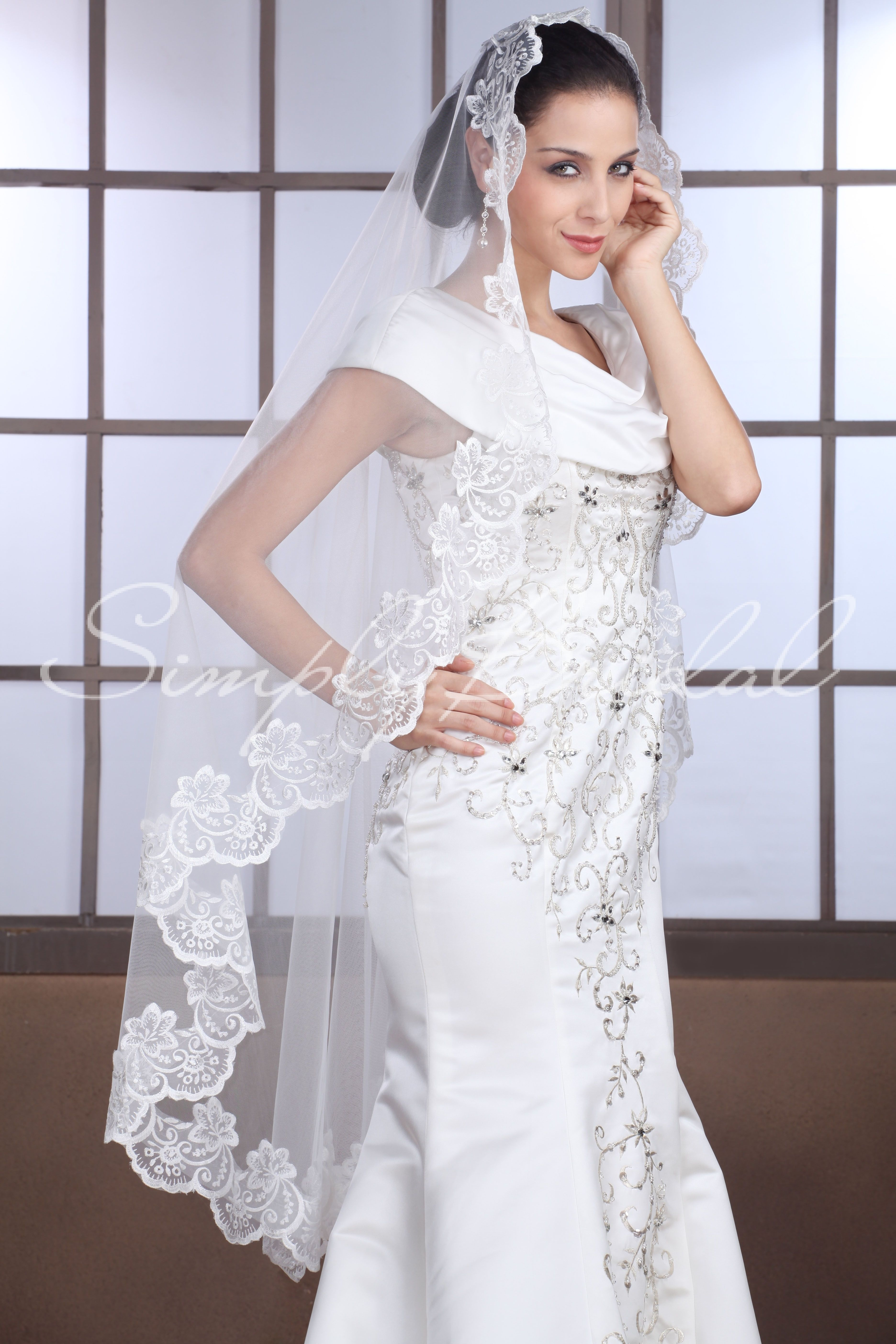 87089 - One Tier 50 | Veil, Wedding accessories and Wedding
