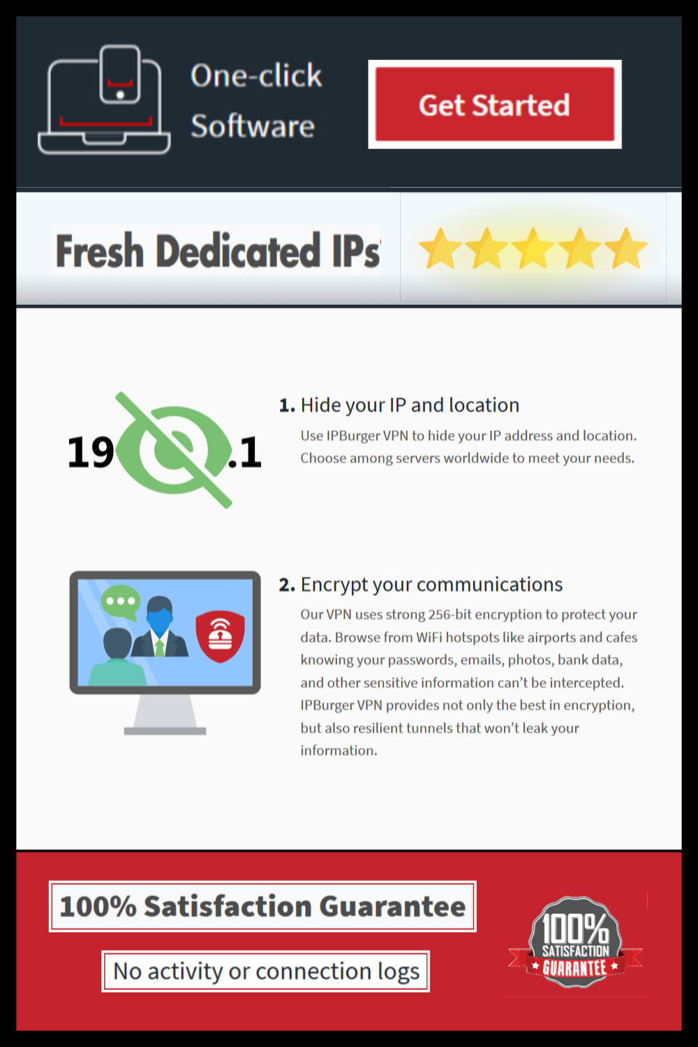 One of the Best VPN Provider. Fresh Dedicated IP. Can be