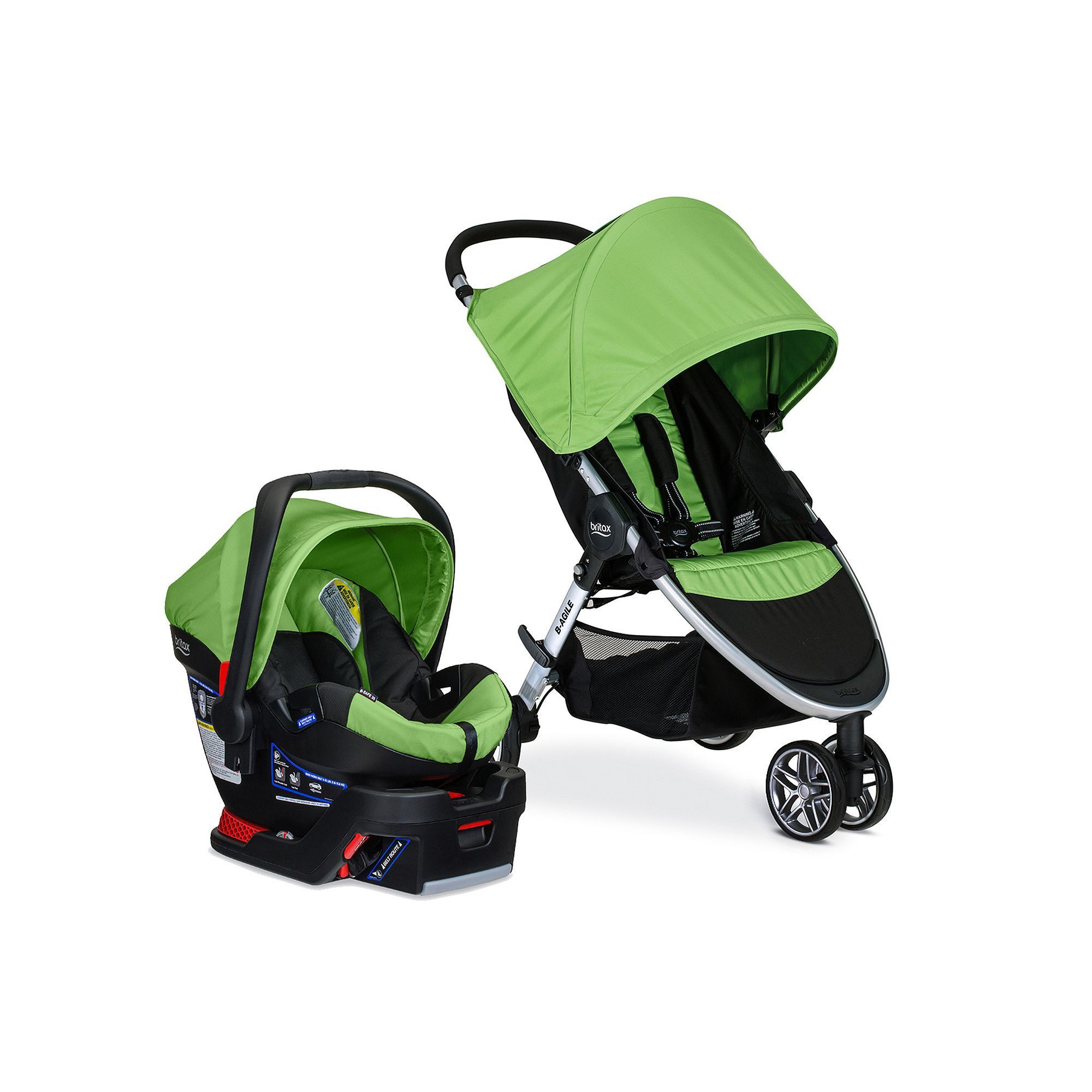 Britax 2017 BAgile / BSafe 35 Travel System, Multicolor