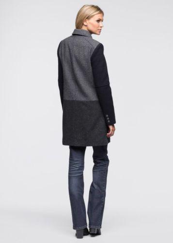 Mantel blau grau WorldPinterest 34eBay Damen Neu Gr 9IYDeWEH2b