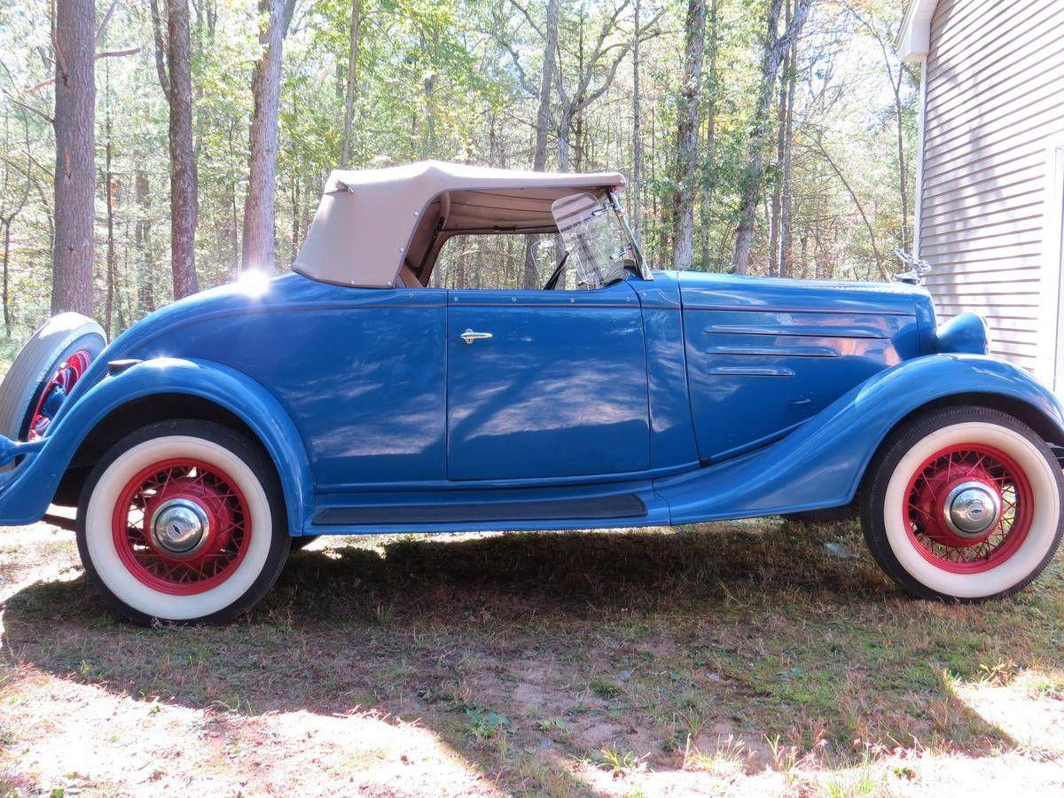 1934 Chevrolet Standard DC Sport Roadster for sale #1791593