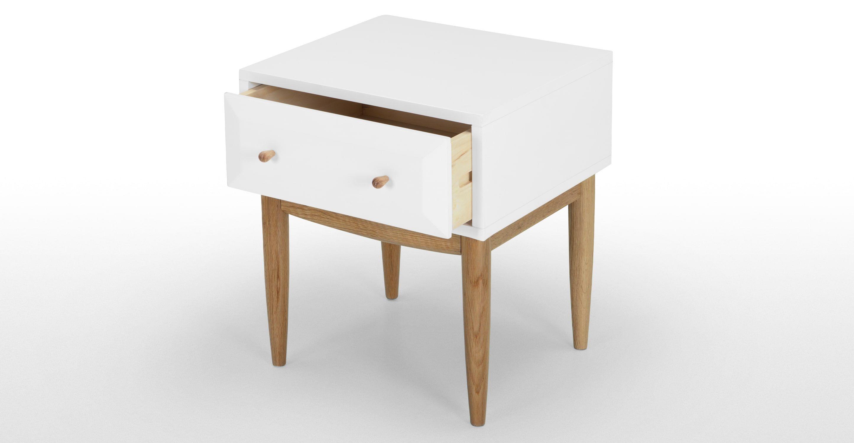 Willow Bedside Table 149 Nachttisch Eiche Eiche Nachttisch