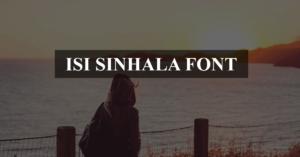 Download Isi Fonts in 2020 | Font packs, Sinhala font, Digital