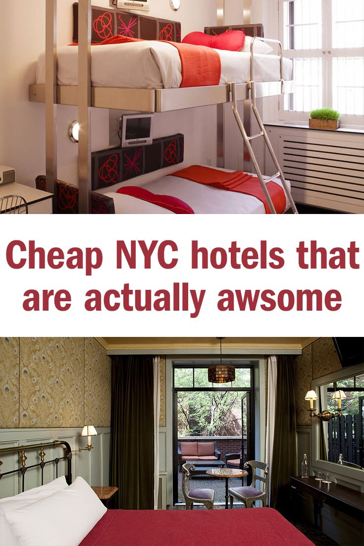 Cheap New York City Hotels That Are Actually Good