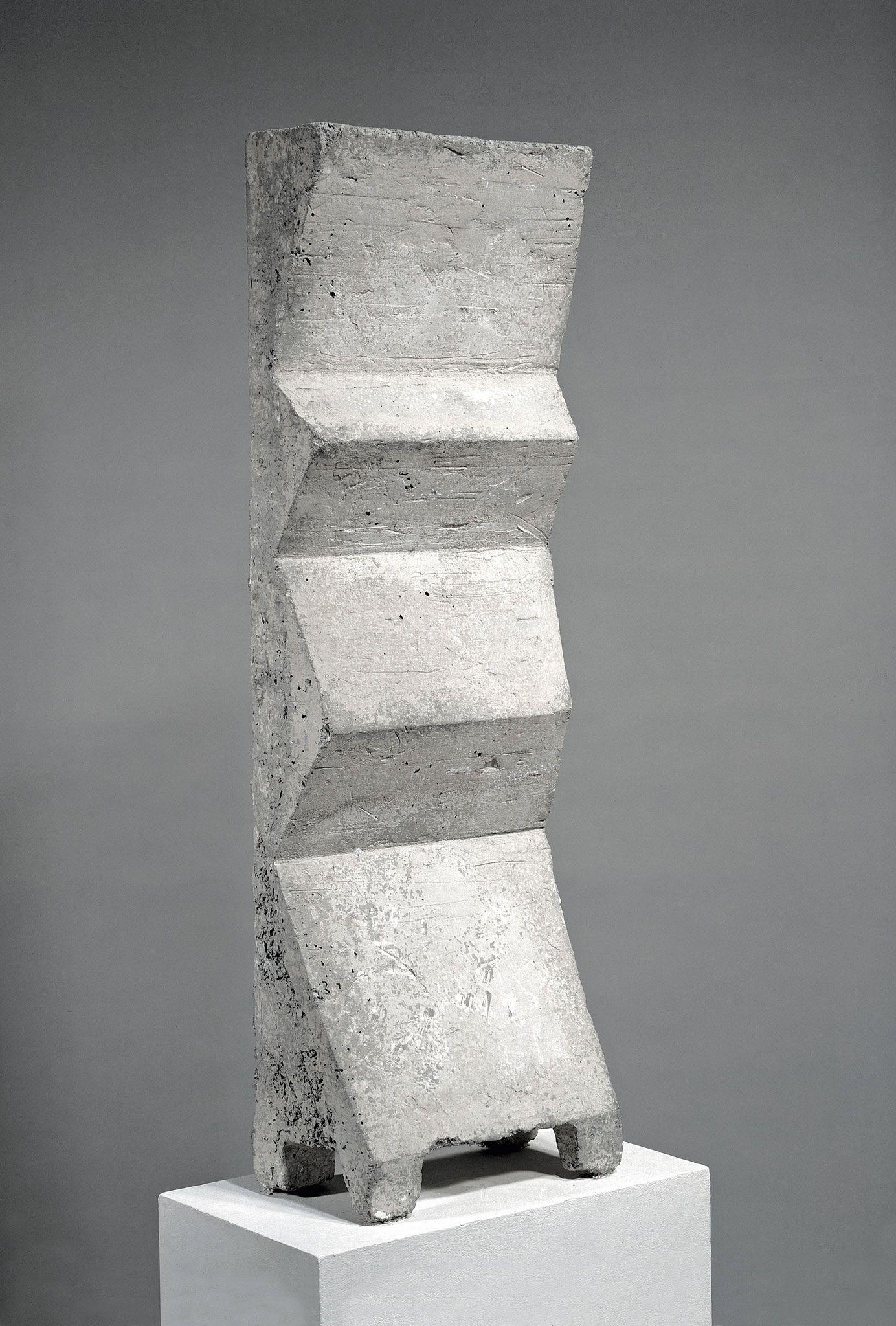 Grauer Torso Friedmann Grieshaber | SCULPTURE / ART OBJECT ...