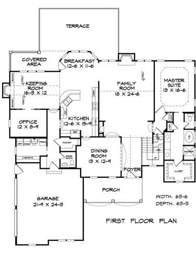 Builder S Custom Home Building Floor Plans Blueprints Floor Plans Floor Plan Design House Plans