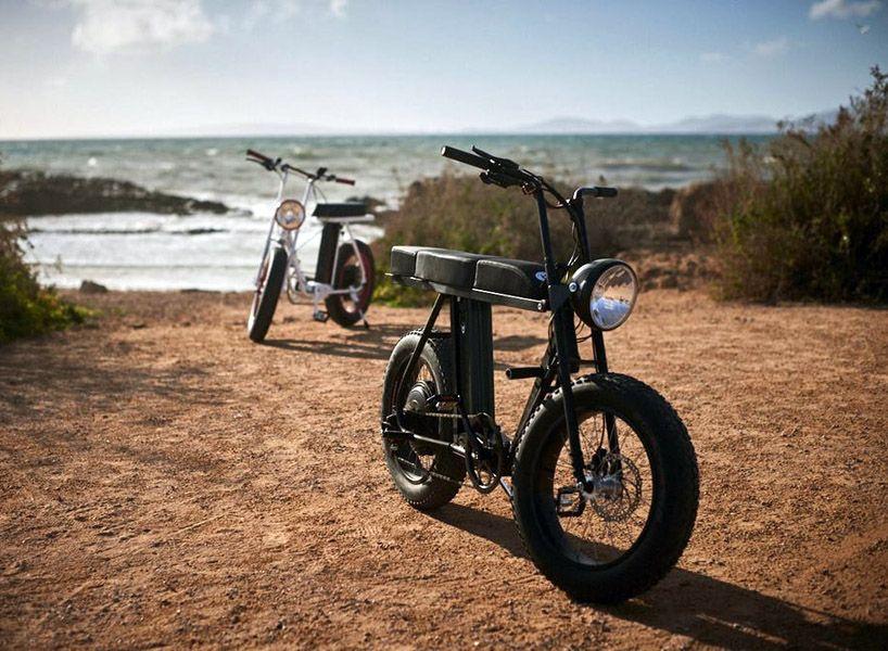 Moke Urban Utility Two Person E Bike Bicycle Biking