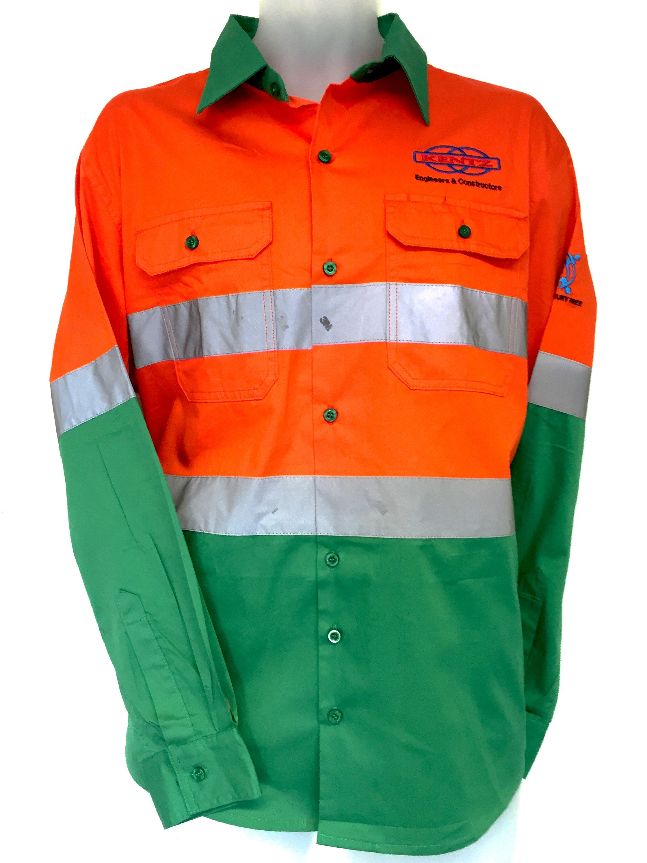 Custom High Vis Work Shirts   ANLIS