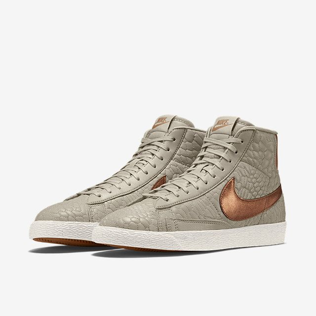 Nike Blazer Mid Premium En Cuir Matelassée