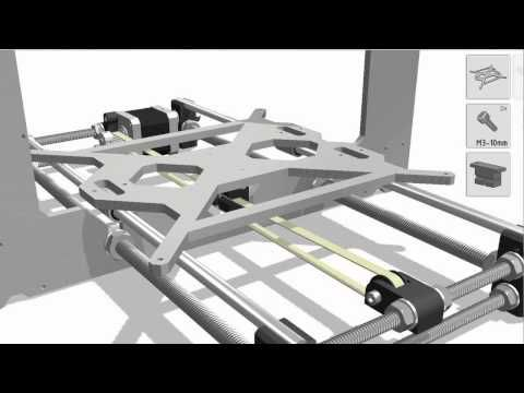 Prusa i3 building manual - YouTube