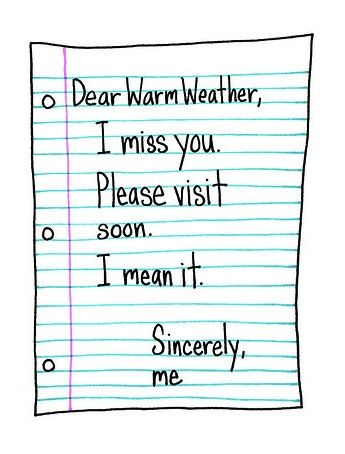 French By Design Dear Warm Weather Frases