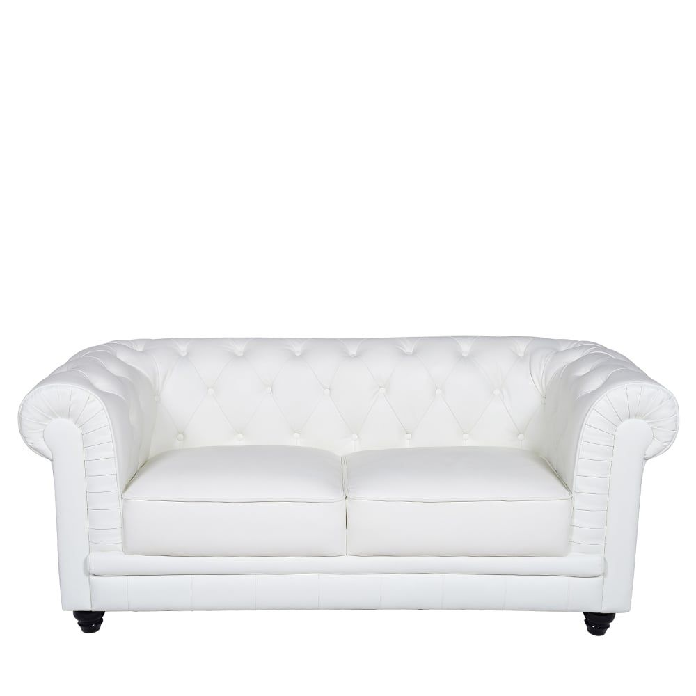 2 Seater Leather Sofas In White Best Choice To Brighten Up Your Space Best Leather Sofa Sofa Deals Leather Sofa