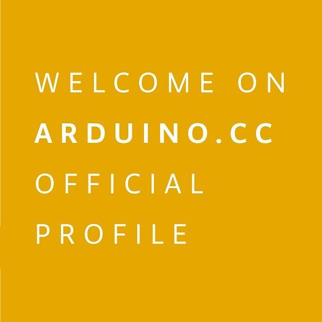 Welcome on Arduino.cc official profile on Instagram! Thanks for following :) #Genuino #Arduino by arduino.cc