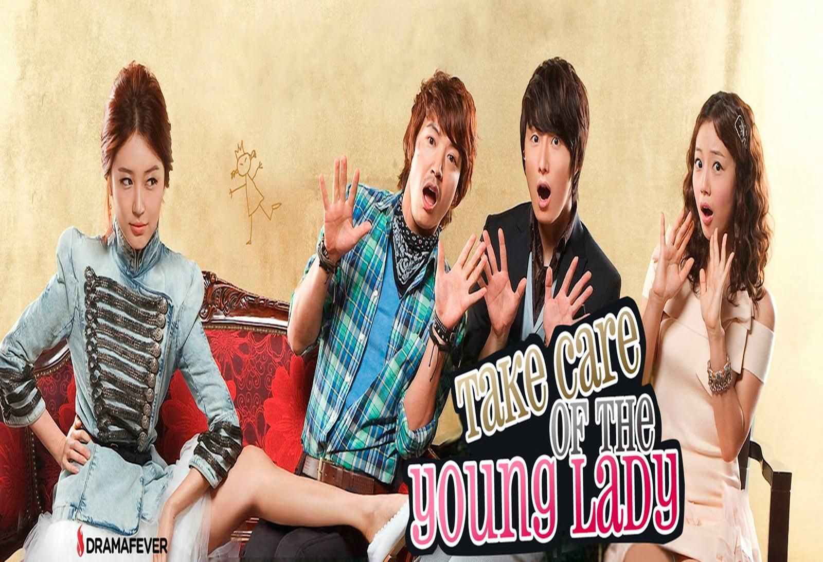 In Take Care of the Young Lady, beloved South Korean