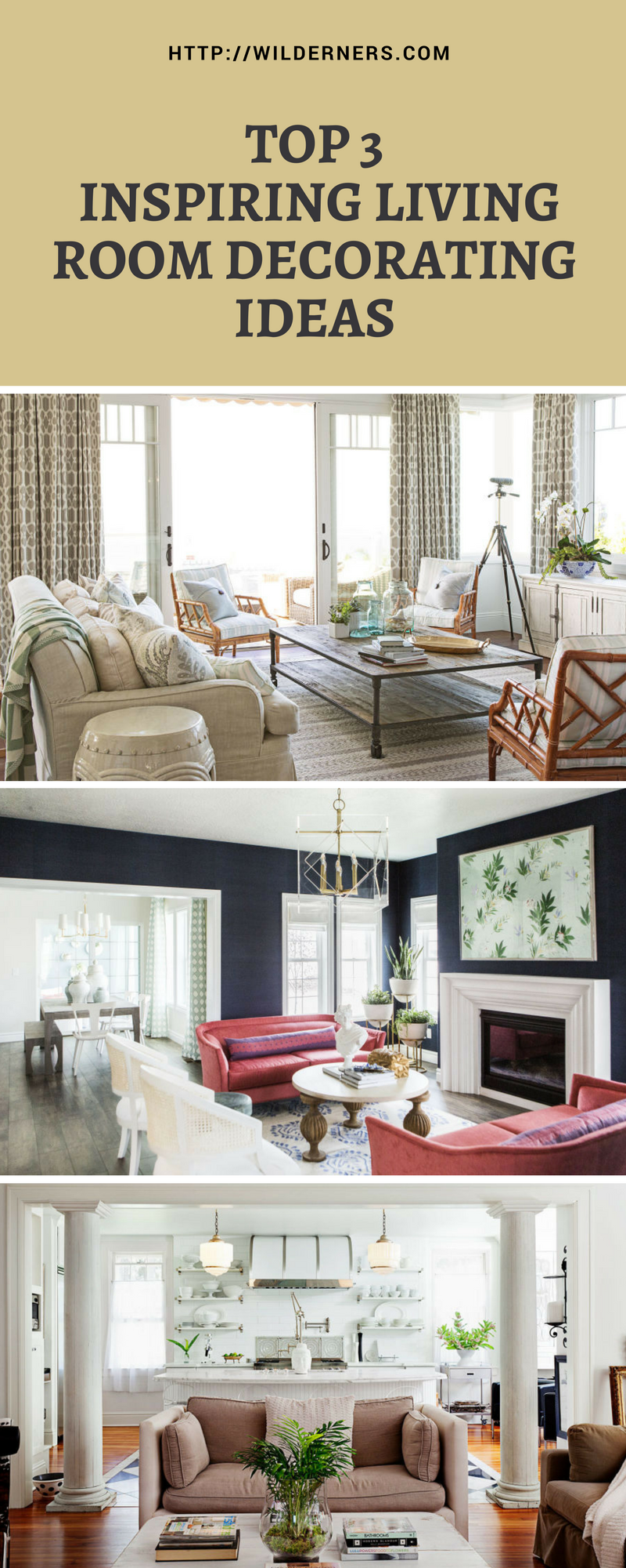 TOP 3 INSPIRING LIVING #ROOM DECORATING #IDEAS | Living ...