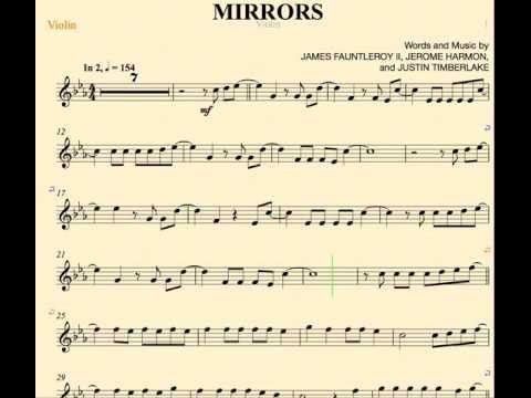 Mirrors Justin Timberlake Violin Sheet Music And Chords