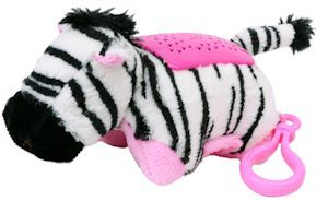 Pillow Pets Mini Dream Lites Zebra Animal Pillows Small Birthday Gifts Pets
