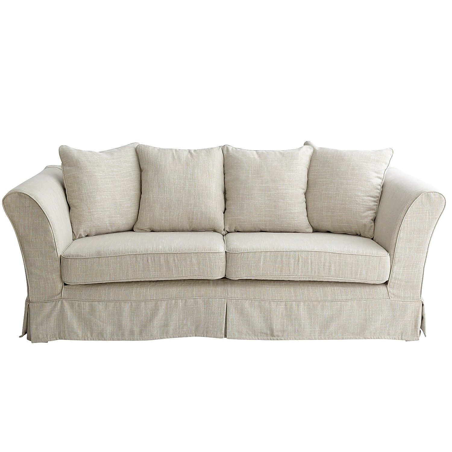 Super Portia Slipcovered Sofa Flax Pier 1 Imports Home And Ocoug Best Dining Table And Chair Ideas Images Ocougorg