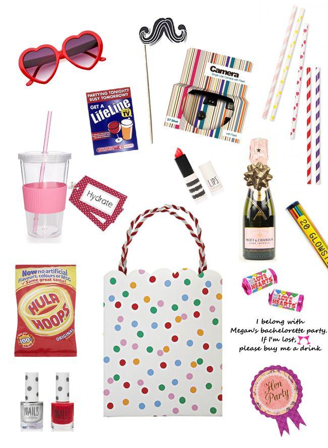 Hen Party Survival Kit Ideas