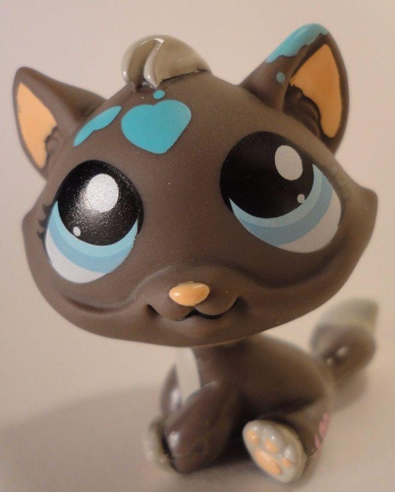 Littlest Pet Shop 815 Cat Lps Messiest Paint Splatter Hasbro