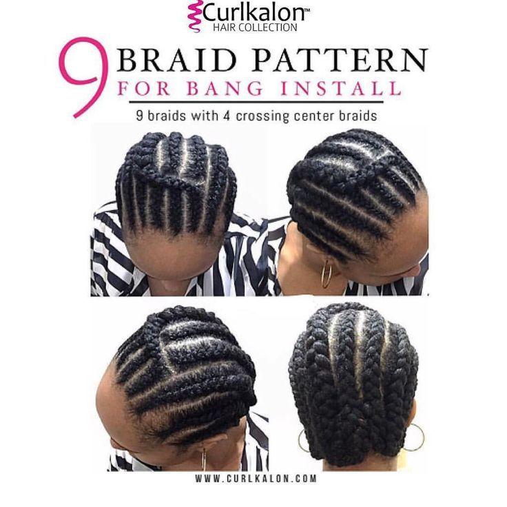 Crochet Pattern For Bangs I Am Not My Hair Pinterest Braids
