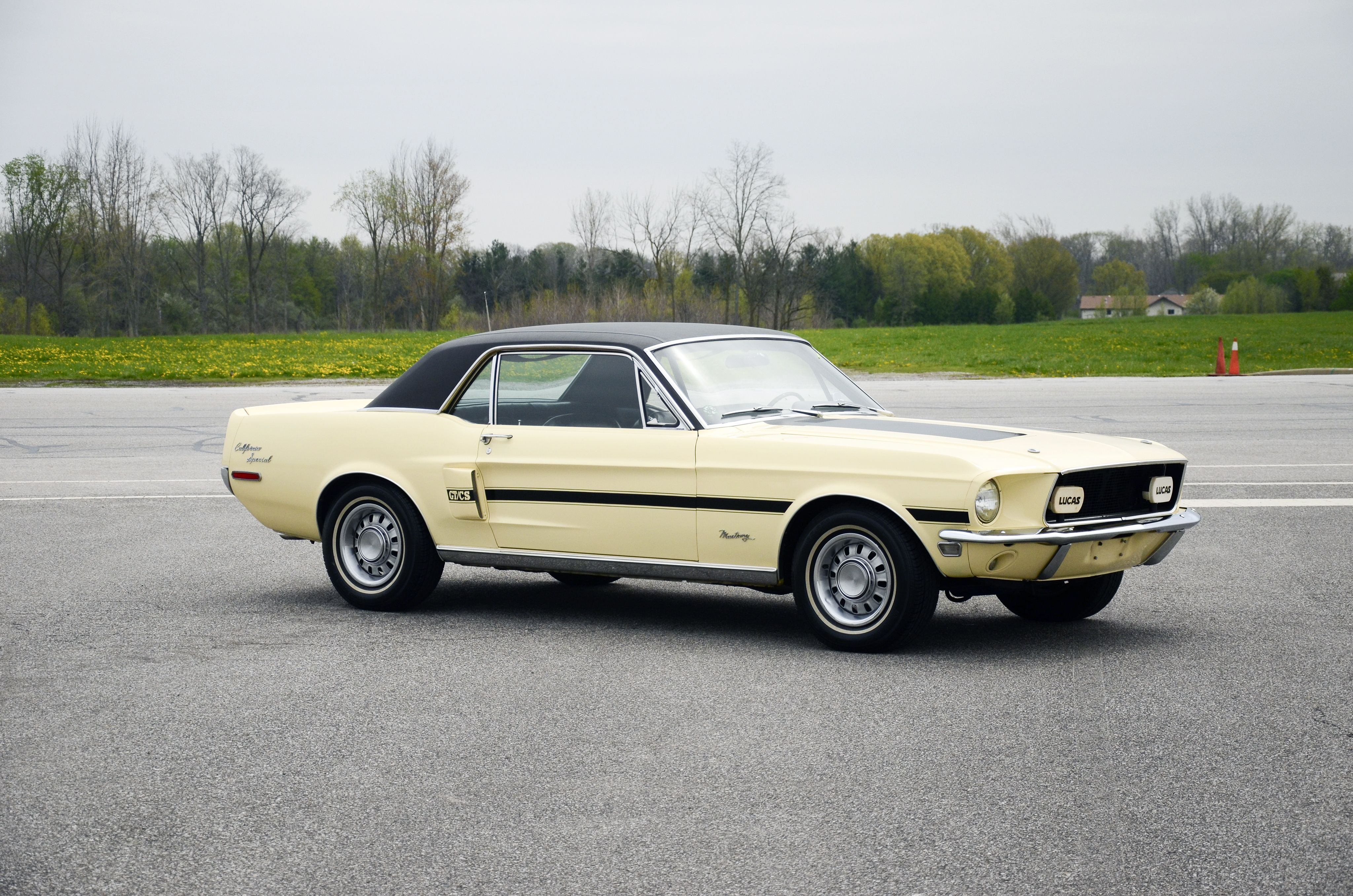 1968 Ford Mustang Gt California Special Mustang Mustang California Special Classic Mustang