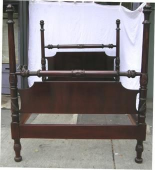 antique four poster bed for sale hand carved wood antique american four poster bed for sale antiquescom classifieds