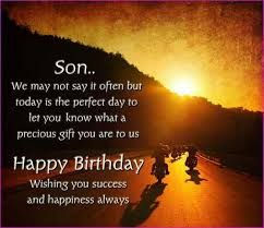 Tag Happy Birthday Wishes To 18 Year Old Son