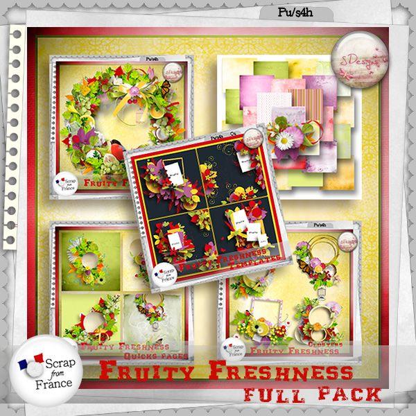 Fruity freshness (Full Pack) by S.Designs