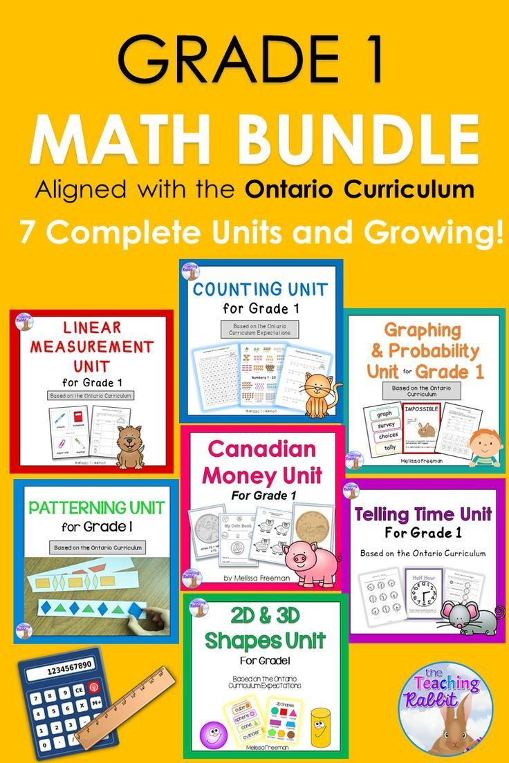 Check Out These Grade 1 Math Units For Counting Canadian Money Telling Time Graphing Probability 2d 3d S 1st Grade Math Teaching Grade Ontario Curriculum [ 1104 x 736 Pixel ]