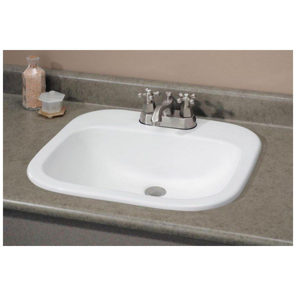 Ibiza Drop In Basin Bathroom Sink Drop In Bathroom Sinks Sink