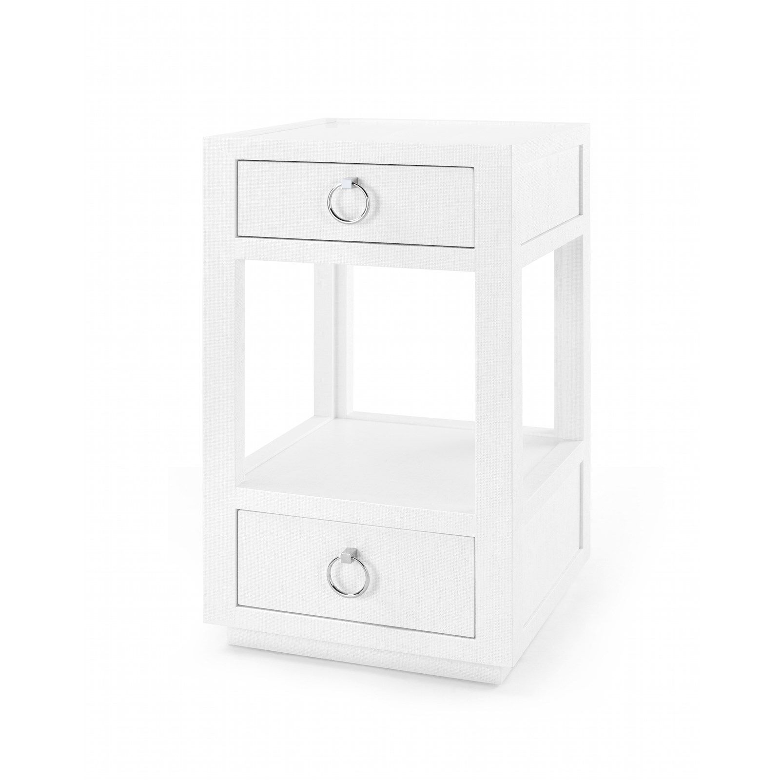 Side table with drawer  Camilla Drawer Side Table White  Bungalow   Side Tables