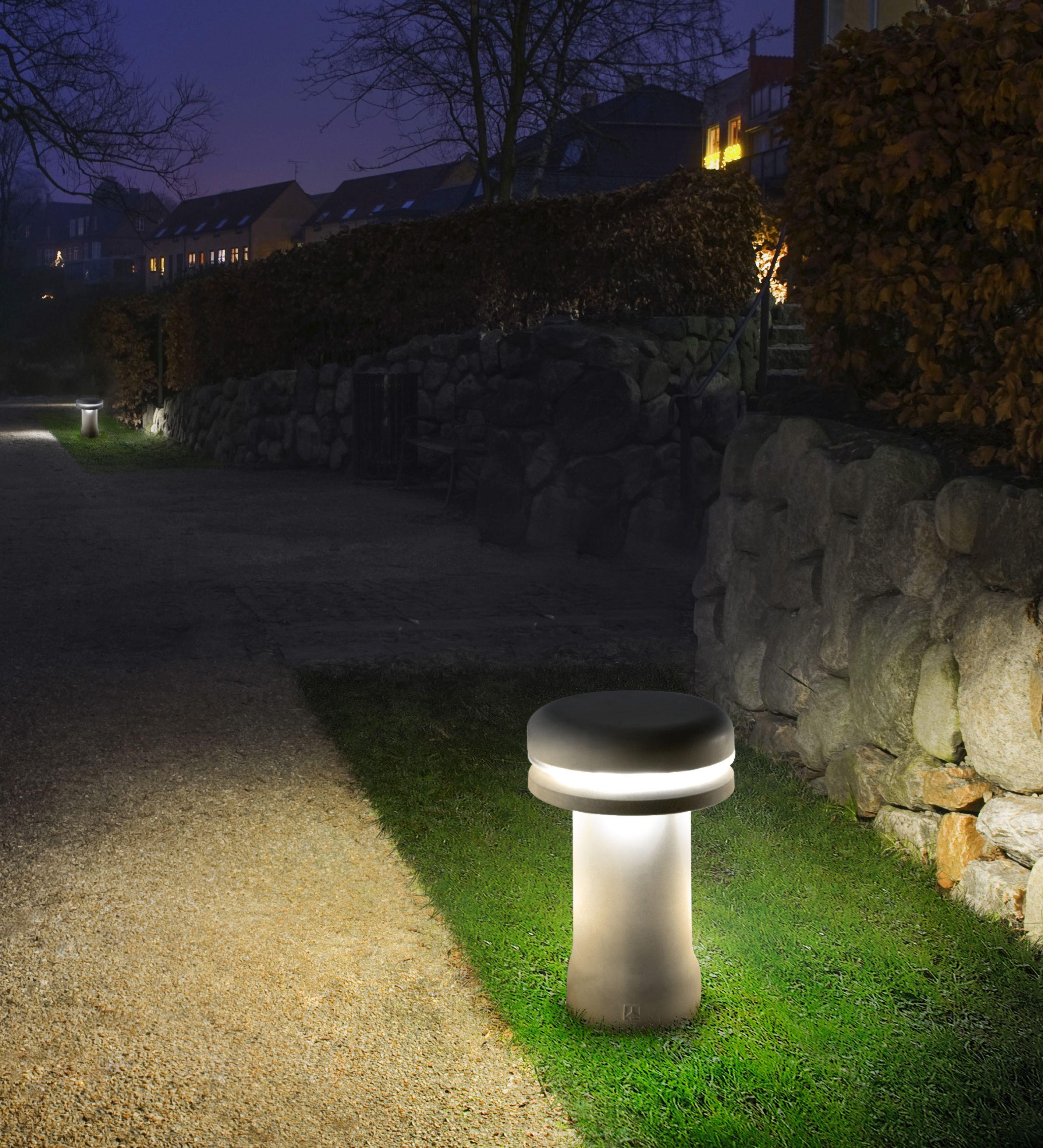 Bollard Light Modern Design Concrete Garden Lamp Walking
